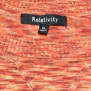 Relativity Sweater XL